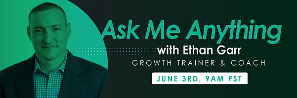 Ask me anything with Ethan Garr